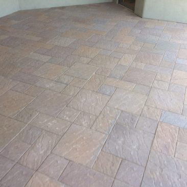 Patio Brick Work