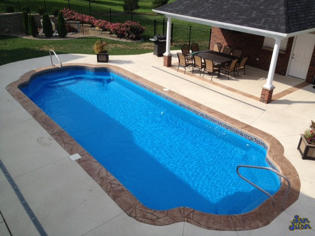 Phoenix ap fiberglass pools for How much does an inground swimming pool cost