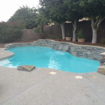 Pool Remodel After