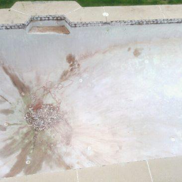 Pool Remodel Before